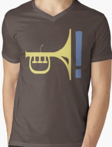 LATE NIGHT JAZZ Mens V-Neck T-Shirt
