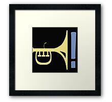 LATE NIGHT JAZZ Framed Print