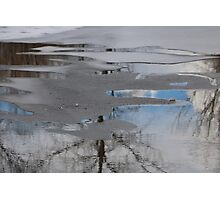 Frozen Reflection Photographic Print
