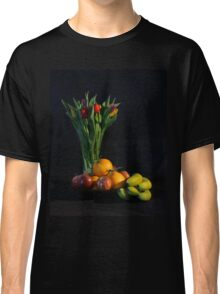 Fruit and Flowers Classic T-Shirt