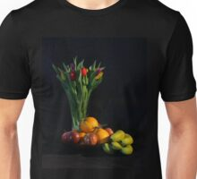 Fruit and Flowers Unisex T-Shirt