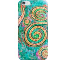 Sacred channels of abundance and love iPhone Case/Skin