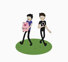Dan and Phil - Gravity Falls Style Unisex T-Shirt