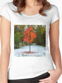 Seasons Women's Fitted Scoop T-Shirt