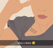 #Snapchat Sticker