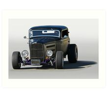 1932 Ford 'Quintessential' Coupe Art Print