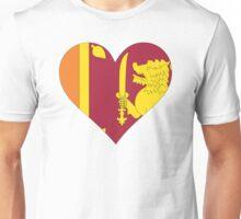 A heart for Sri Lanka Unisex T-Shirt