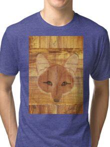 Fox Wood Tri-blend T-Shirt