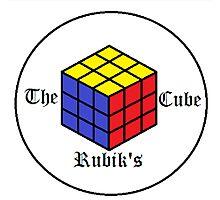 The Rubik's Cube Photographic Print