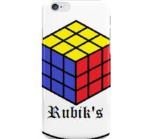 The Rubik's Cube iPhone Case/Skin