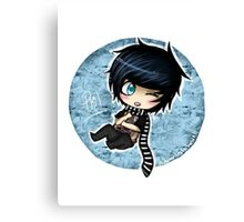 Cute Chibi Phil Canvas Print
