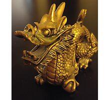Tiny Feng Shui Dragon Photographic Print