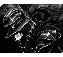armored guts, from berserk Photographic Print