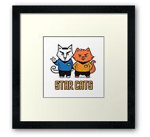 Star Cats Framed Print