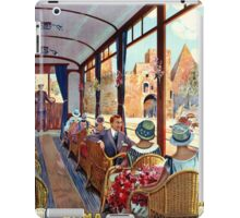Rome Italy Interior luxury tourist tram Italian travel iPad Case/Skin