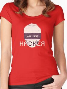 Another Hacker Mask Women's Fitted Scoop T-Shirt