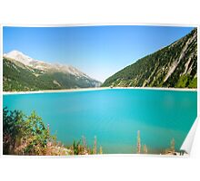 Austria, Zillertal High Alpine nature Park Poster