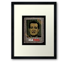 HATED>TRUSTED Framed Print