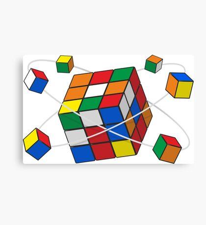 Rubik's cube Canvas Print