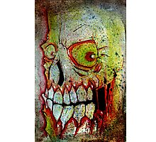 the gleaming skull Photographic Print