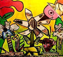 Butterfly Kissez Decopollage 2016 by Maureen Zaharie