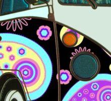 Funky Camper Van Sticker