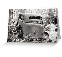 Old Rusty Car #2 Greeting Card