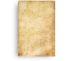 Old paper texture Canvas Print