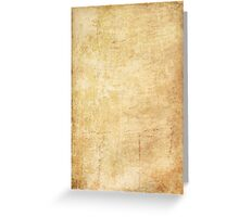 Old paper texture Greeting Card