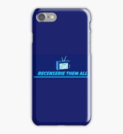 Recenserie Them All iPhone Case/Skin