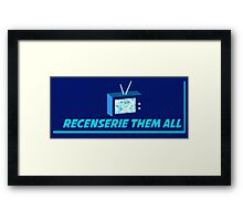 Recenserie Them All Framed Print