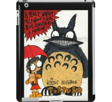 My Hideous neighbour Torturo  iPad Case/Skin