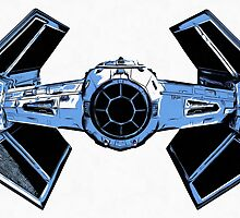 Star Wars Tie Fighter Advanced X1 by Edward Fielding