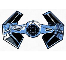 Star Wars Tie Fighter Advanced X1 Photographic Print