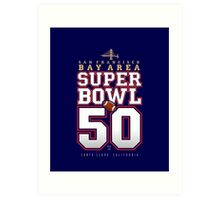 Super Bowl 50 IV Art Print