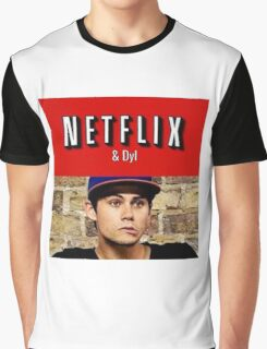 Netflix and Dyl  Graphic T-Shirt