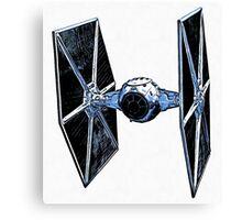 Star Wars Tie Fighter Canvas Print