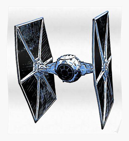 Star Wars Tie Fighter Poster