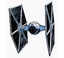 Star Wars Tie Fighter Photographic Print
