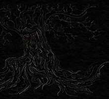 Weirwood tree  by elaenatargaryen