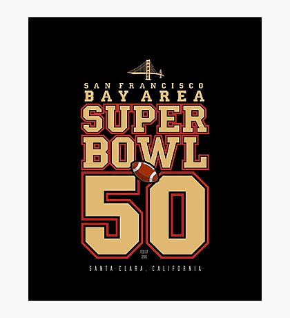 Super Bowl 50  Photographic Print