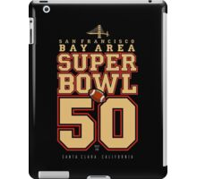 Super Bowl 50  iPad Case/Skin