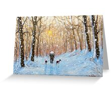 The short cut home.. Greeting Card