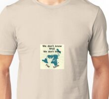 Is the earth flat Unisex T-Shirt
