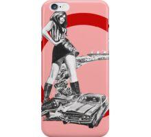 Demolition Derby Girl iPhone Case/Skin