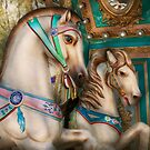 Americana - Carousel beauties by Mike  Savad