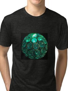 Crystal Aqua Tri-blend T-Shirt