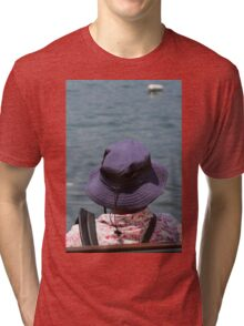 people on the beach Tri-blend T-Shirt