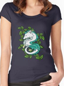 Haku // Spirited Away Women's Fitted Scoop T-Shirt