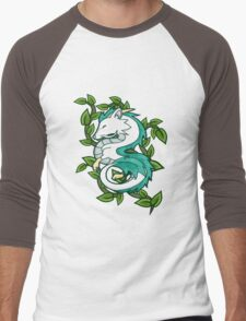 Haku // Spirited Away Men's Baseball ¾ T-Shirt